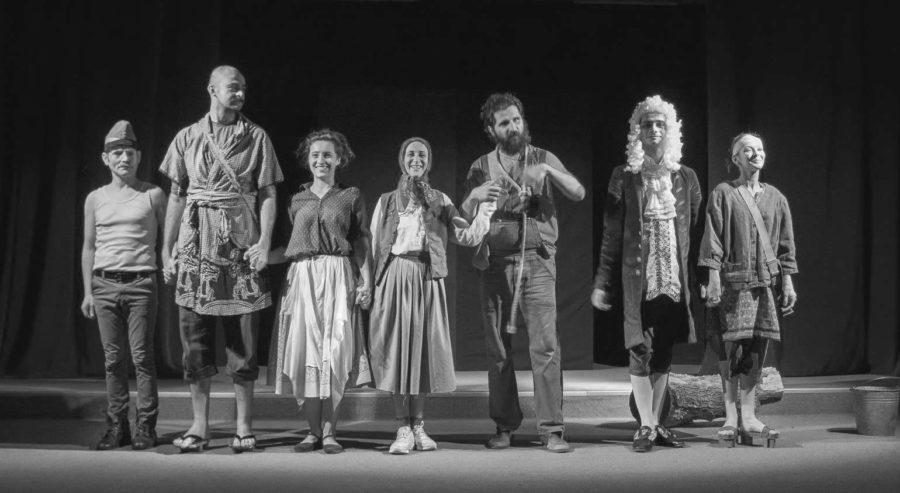 afis Cultură'n Șură – Teatru pe șoseaua de centură